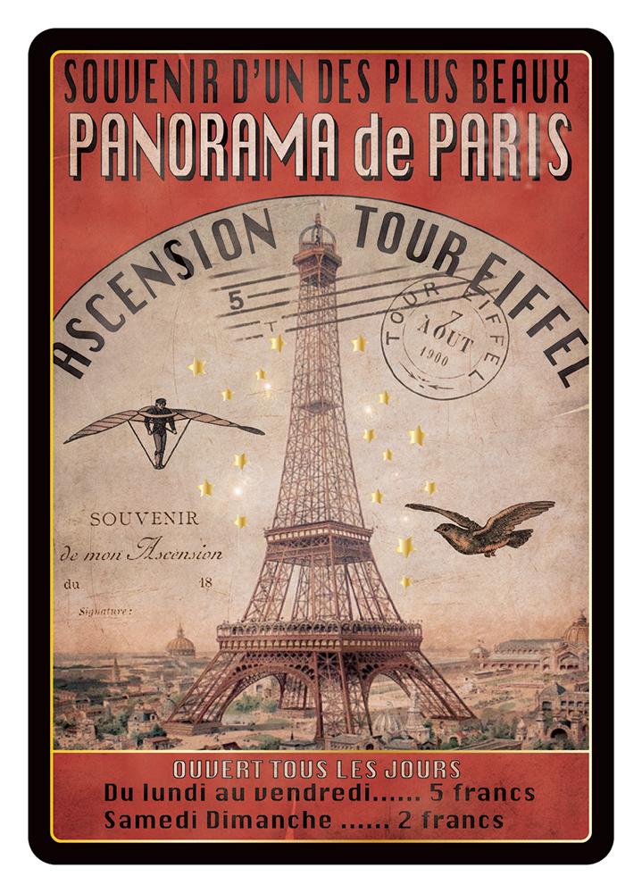 Carte Postale Paris Souvenir - Expostion Universelle